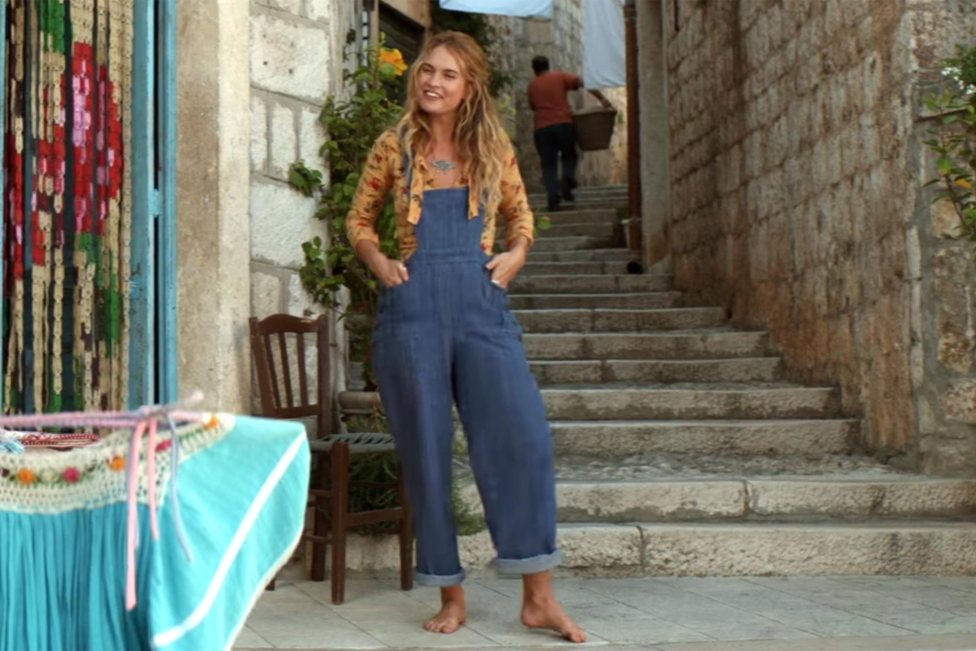 6941019ecea423 How To Re-Create Lily James' Outfits In 'Mamma Mia 2' - Society19 UK