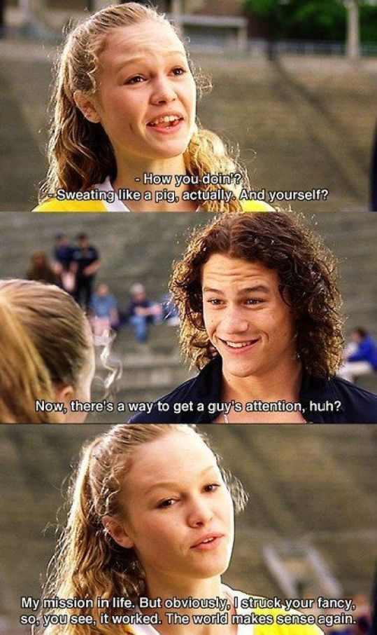 The Top 10 Reasons To Love 10 Things I Hate About You