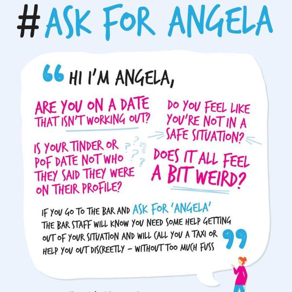 #AskforAngela aims to tackle sexual violence in bars and clubs