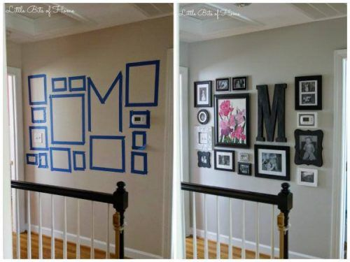 How To Create A Gallery Wall For Your Flat