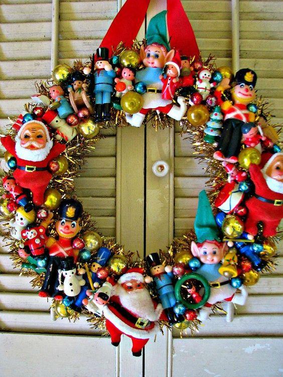Christmas Wreath Ideas.20 Strikingly Unique Christmas Wreath Ideas Society19