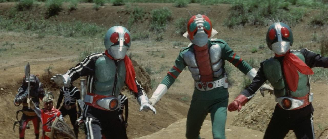 Kamen Rider V3 vs. Destron Mutants Now Subbed - Orends: Range (Temp)