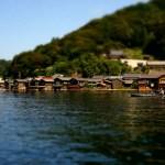 舟屋の一景