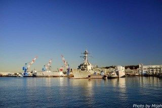 横須賀軍港201504