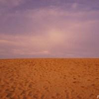 鳥取砂丘 ~夕暮れ時の神秘的な光景がお勧めの砂丘~