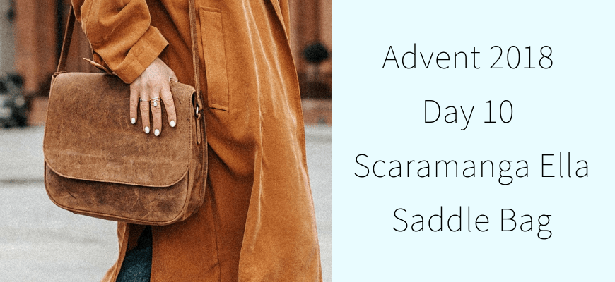 Advent 2018 Day 10 – Scaramanga Ella Saddle Bag