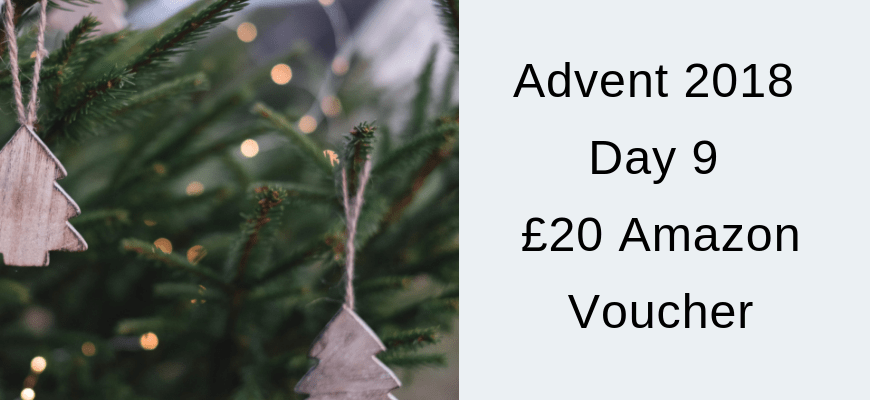 Advent 2018 Day 9 – £20 Amazon Voucher
