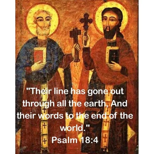 Encyclical for the Feast of the Apostles