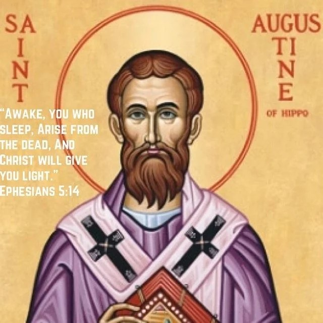 """""""In God's omnipotence He is not far from us even when we are far from Him."""" – St. Augustine #coptic #orthodox #staugustine #ephesians"""