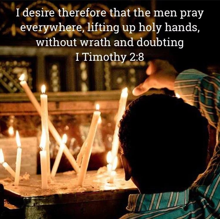 """""""Prayer rising in a man's heart will open up the doors of heaven."""" – St. Ephraim the Syrian  """"There is no possession more precious than prayer in the whole human life. Never be parted from it; never abandon it."""" – St. Ephraim the Syrian  #coptic #orthodox #prayer #faith #trustingod #lent #fasting"""