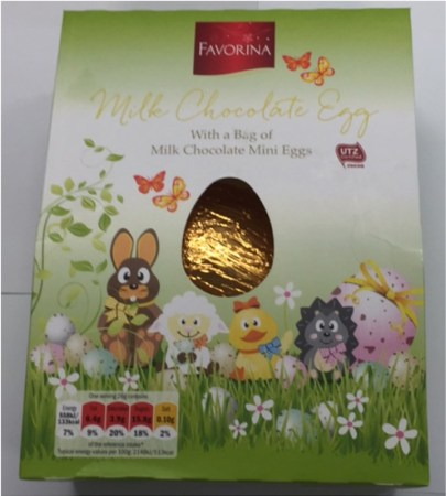 Lidl Favorina Easter Egg