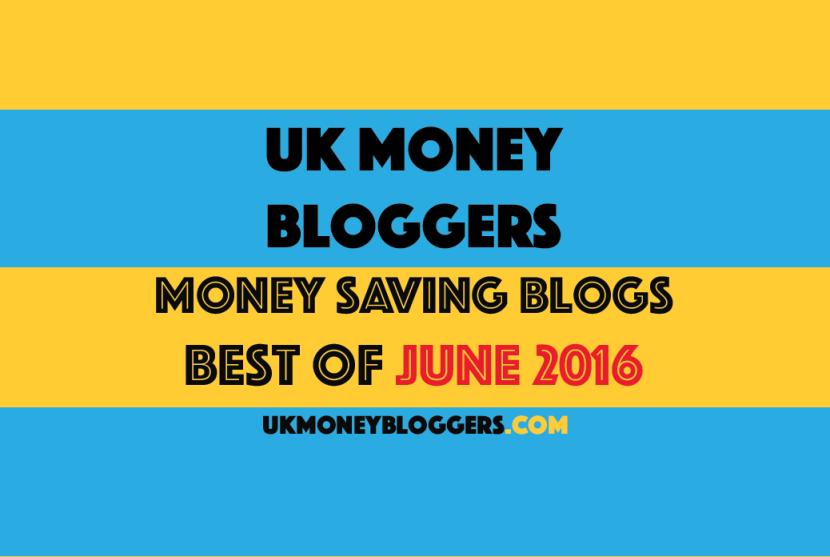 Saving money June round up UK Money Bloggers