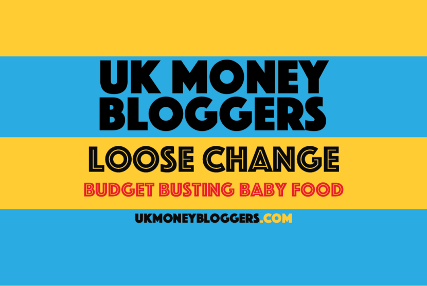 Loose change budget busting baby food