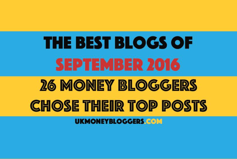 Best money blog posts of september 2016