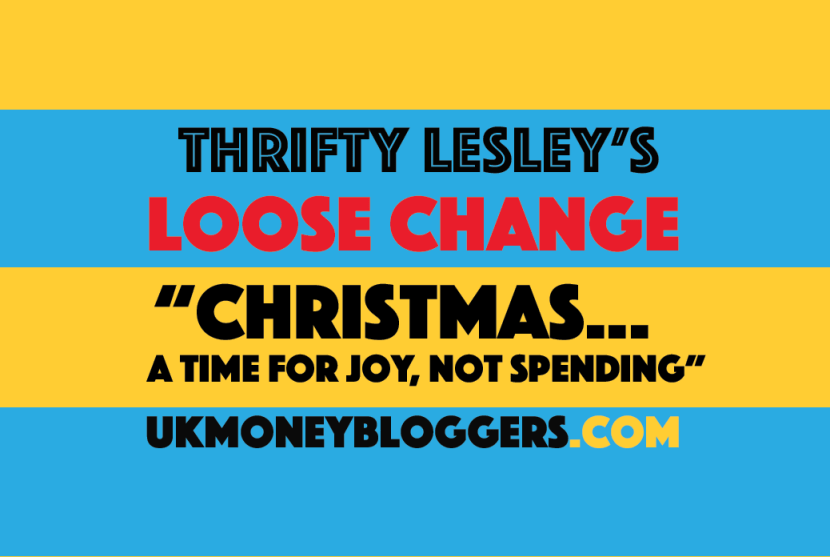 Loose change Christmas time for joy not spending