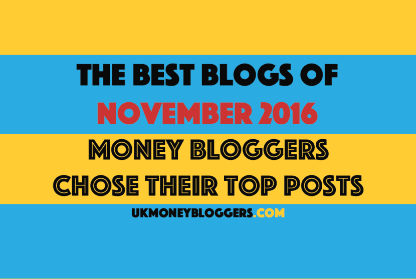 Best money blogs November 2016