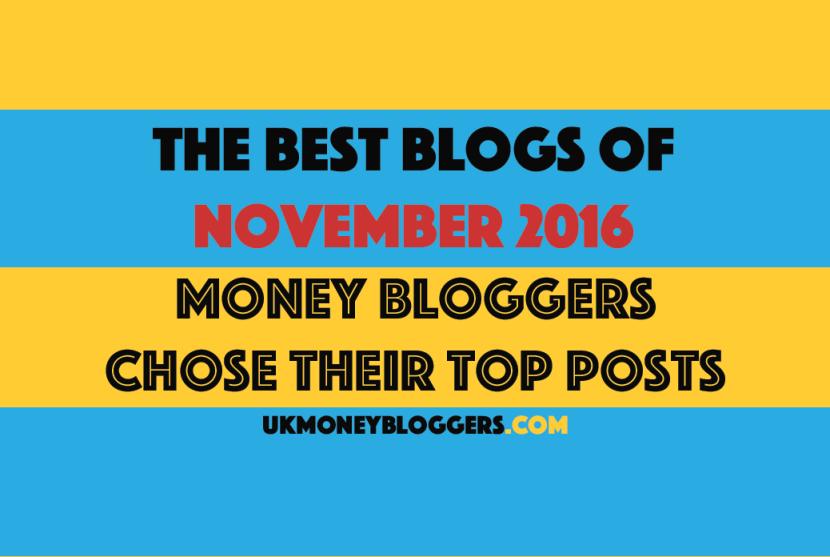 Best money blogs November 2016
