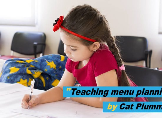 Loose change - teaching menu planning in schools by Cat Plummer