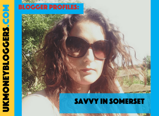 UK money blogger Fiona from Savvy In Somerset