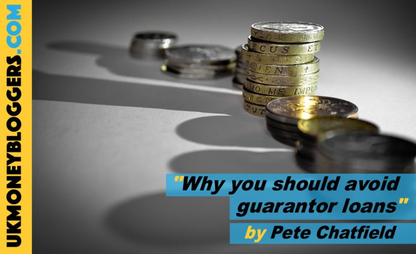 Loose Change - piles of coins - why you should avoid guarantor loans