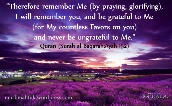 Allah SWT says Remember Me I will remember you  UK Muslimah