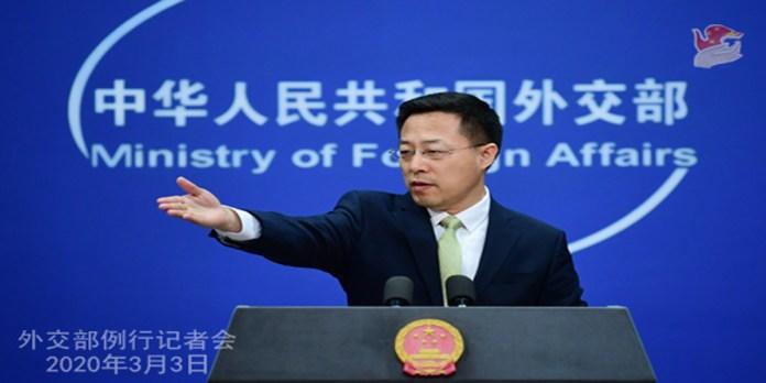 Foreign Ministry Spokesperson Zhao Lijian