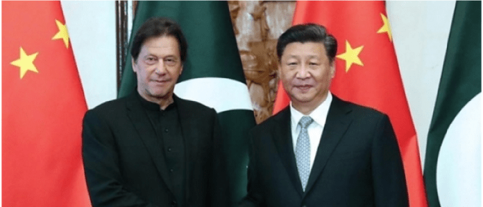Prime Minister Imran meets chinese counterpart for silk route