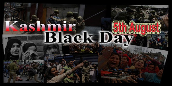 kashmir black day on 5th August