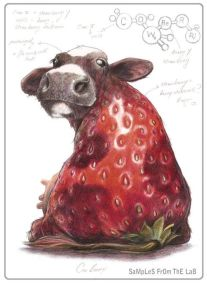 cow strawberry