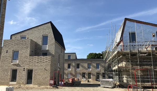 Near zero approach in volume housebuilding - Goldsmith Street, Norwich