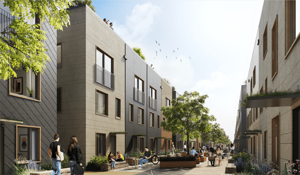 Large-scale zero carbon housing: Leeds Climate Innovation District