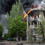 Mariupol-Building-Burning
