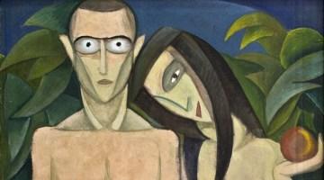 Адам і Єва, Віктор Браунер, 1923.