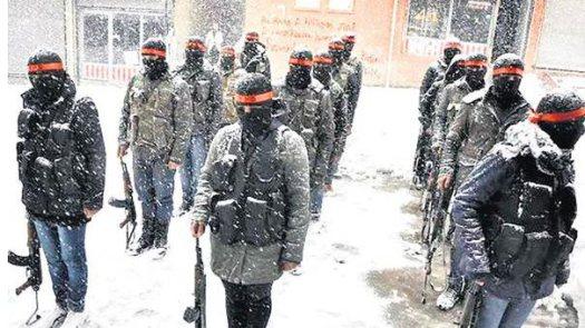 Курдские милиции YPS