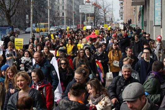 Акція 8 березня 2017 Київ