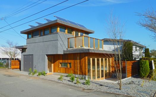 Будинок на задньому дворі у Ванкувері. (Lanefab Design/Build)