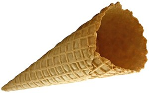 Sugar Cone without rim