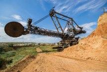 Post-apocalyptic Views Of Mining Machinery Ukraine