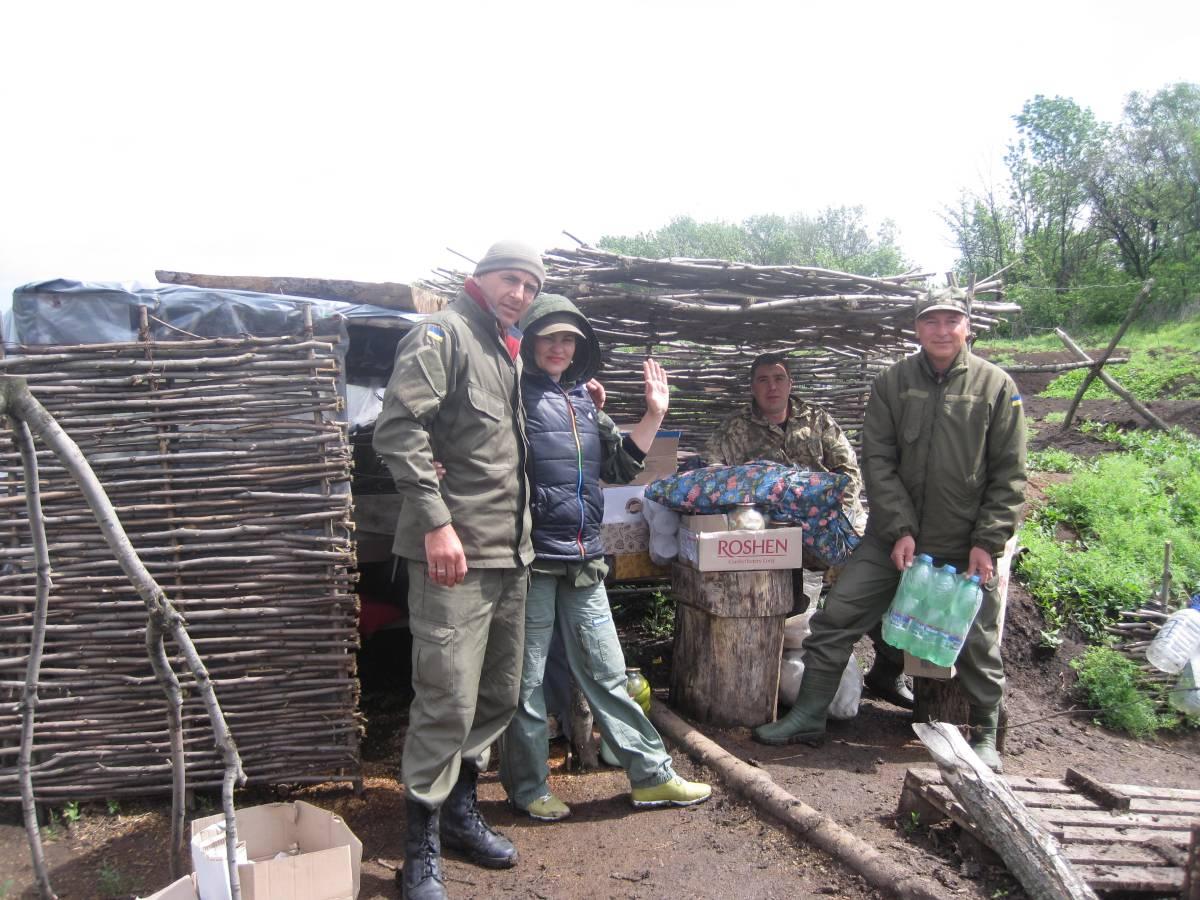 Підтримка бійців у зоні АТО