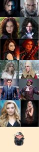 witcher cast by fans
