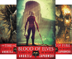 the witcher netflix books