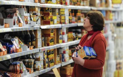 зростання цін на продукти харчування