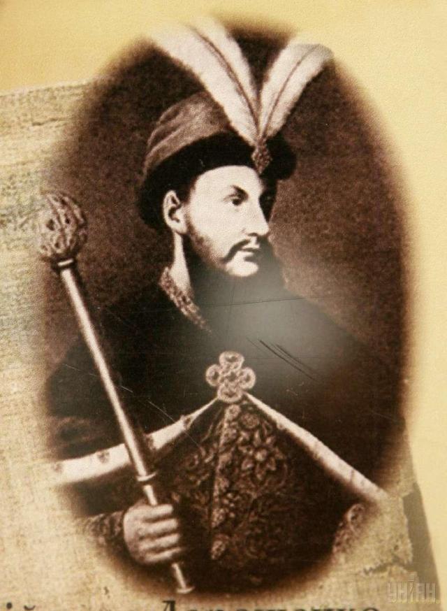 Репродукция портрета гетмана