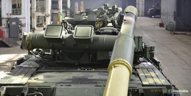 «Укроборонпром» підготував для десантників чергову партію «летючих» танків Т-80