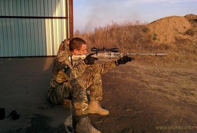 Волонтерская винтовка, собранная на базе винтовки Мосина