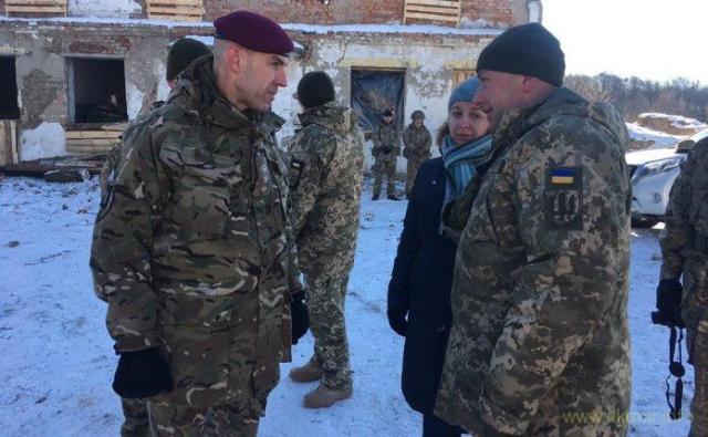 Семь тысяч украинских военных прошли оборонительные тренинги в Британии