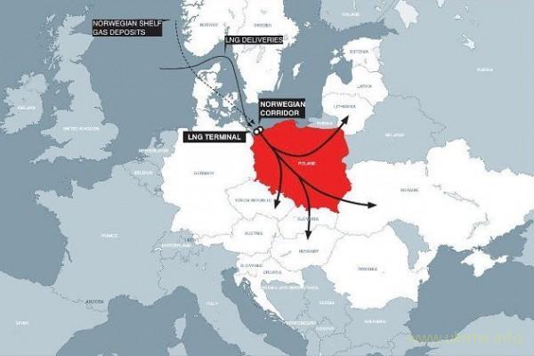 Через 4 года газ с поребрика Европе будет не нужен