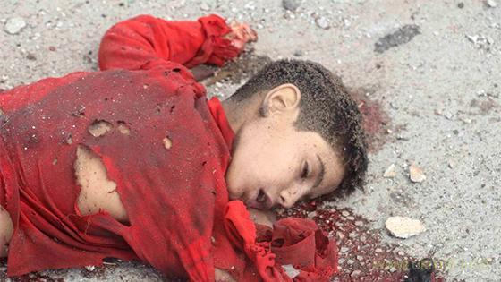 Россияне сожгли напалмом в Восточной Гуте более 60 детей и женщин