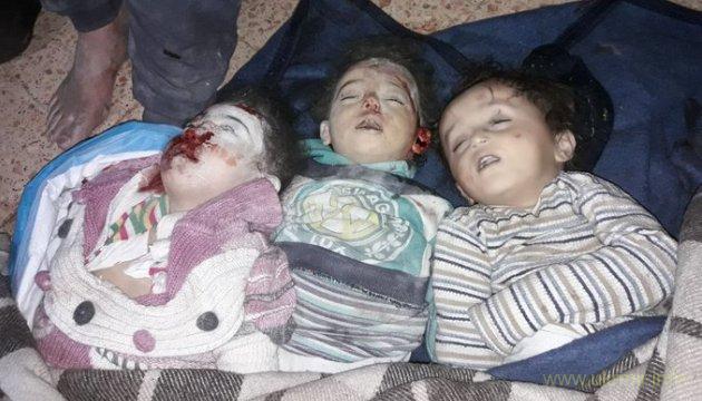 В Восточной Гуте русские заживо сожгли 37 детей и женщин