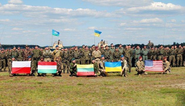 В Украину приедут 2,5 тыс. военнослужащих из 14 стран